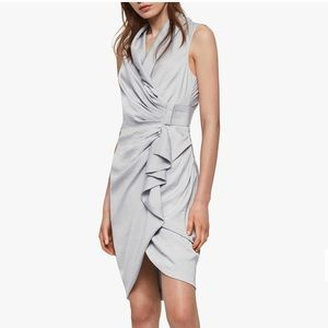 Cancity dress in pale grey